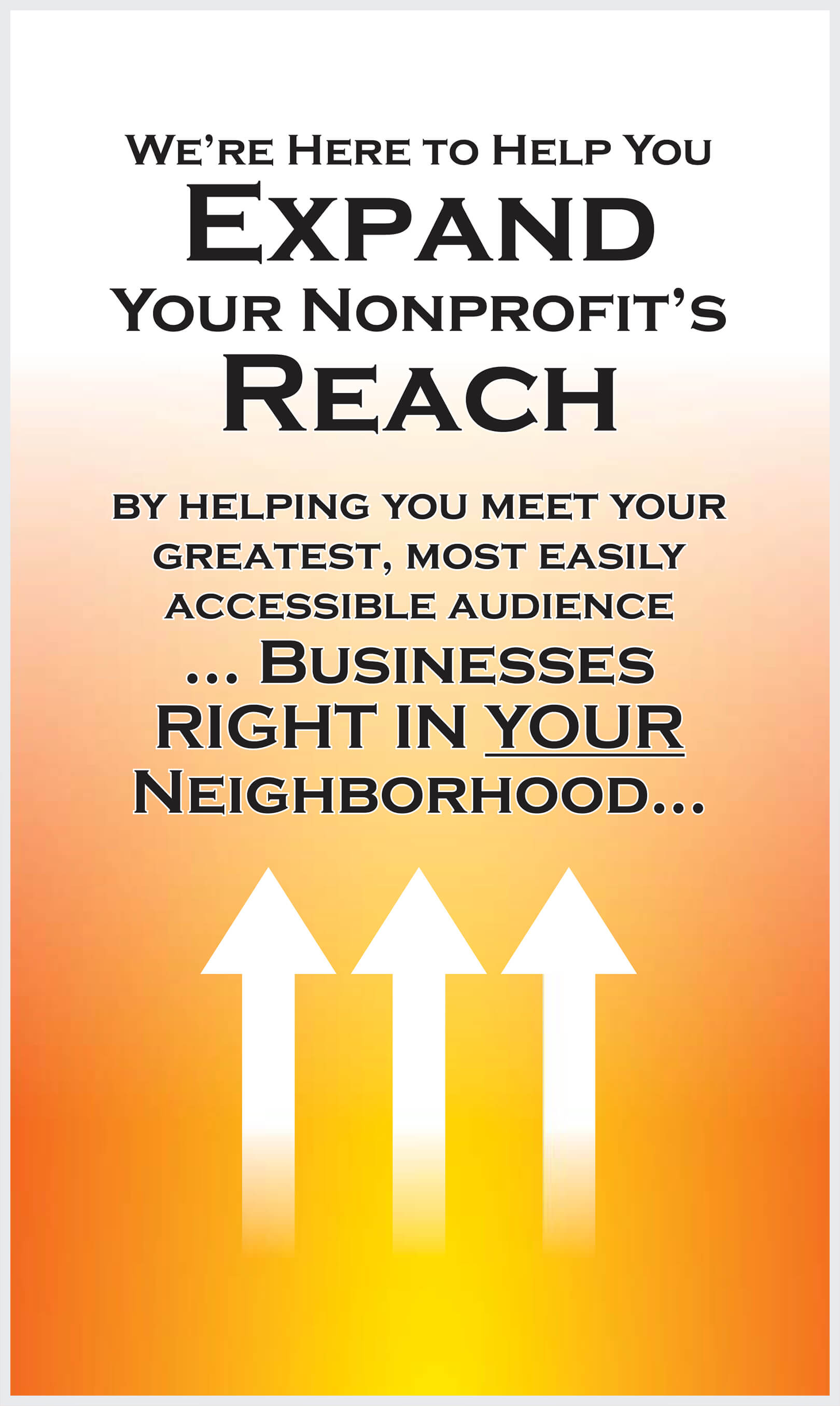 Expand Your Nonprofit's Reach!